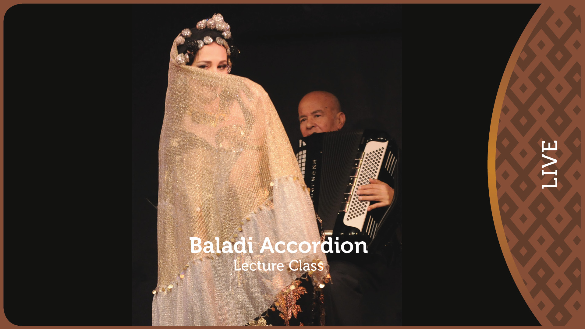 Baladi Accordion Lecture Class Part 1/2